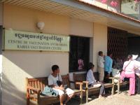 Centre de vaccination antirabique et de diagnostic biologique à Phnom Penh Cambodge