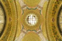 Mosaîque dans la crypte néo-byzantine où repose Louis Pasteur, Musée Pasteur, Paris.