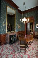 La petite salle à manger dans l'appartement de Louis Pasteur.