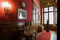 Couloir du premier étage dans l'appartement de Louis Pasteur.