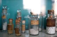 Flacons ayant appartenus à Louis Pasteur