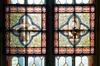 Vitraux au musée Pasteur dans l'appartement de Louis Pasteur