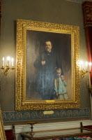Tableau dans le Grand salon - Musée Pasteur