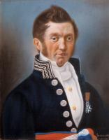 Emmanuel Pareau, pastel exécuté par Louis Pasteur en 1839