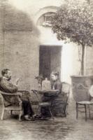 Louis Pasteur et Marie Pasteur à Pont-Gisquet