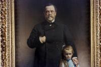 Louis Pasteur et sa petite-fille Camille Vallery-Radot