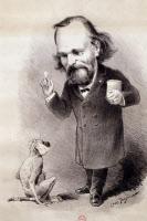 Caricature d'Elie Metchnikoff par Louis Tauzin