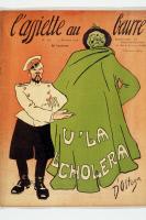 """Caricature """"V'la l'choléra"""""""