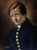 Portrait de Didier Netzer (1821-1912), camarade de collège de Pasteur à Besançon.
