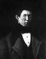 Alexandre Pareau, pastel exécuté par Louis Pasteur en 1839.