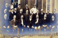 Emile Marchoux, Oswaldo Cruz et Paul-Louis Simond au Brésil en 1905