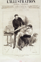 Dr. Ferran pratiquant une vaccination