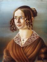 Sophie Roch, pastel exécuté par Pasteur en 1839