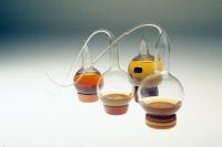 Ballons à col de cygne utilisés par Louis Pasteur
