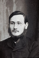 Portrait d'Elie Metchnikoff en 1870.