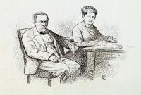Louis Pasteur et Madame Pasteur
