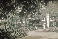 Pavillon des sommeilleux, Institut Pasteur de Brazzaville, v. 1930