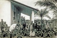 Camp des sommeilleux, Institut Pasteur de Brazzaville, v. 1930