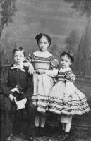 Trois des enfants de Louis Pasteur