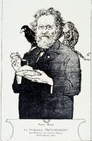 Caricature d'Elie Metchnikoff