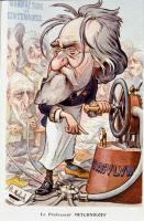 Caricature d'Elie Metchnikoff par Moloch, 1908
