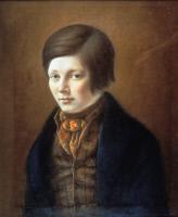 Léon Foncin, pastel exécuté par Louis Pasteur en 1841
