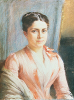 Marie-Louise Pasteur, 1888