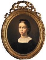 Cécile Pasteur par Auguste Leloir, 1864.