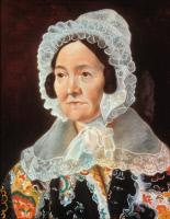Madame Blondeau, pastel exécuté par Louis Pasteur en 1839
