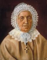 Claudine Benoiste Parpandet dite soeur Constance, pastel exécuté par Louis Pasteur en 1839