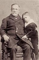 Louis Pasteur et son petit-fils en 1892
