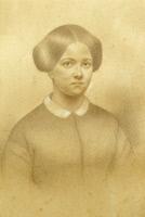Marie Pasteur (1826-1910) vers 1854