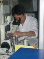 Laboratoire de recherche à l'Institut d'Hygiène et d'Epidémiologie (NIHE) de Hanoï
