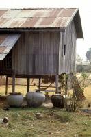 Gîte larvaire de moustiques : jarres