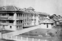 Institut National d'Hygiène et d'Epidémiologie de Hanoi en 1960