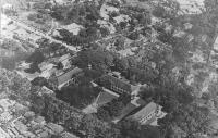 Vue aérienne de l'Institut Pasteur de Saïgon en 1930