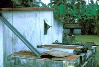 Citerne Gîte de larves de moustiques