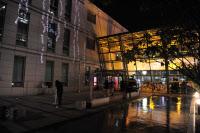 """Vue extérieure Institut Pasteur de Corée """"Pond Garden"""""""