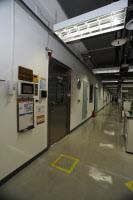 Institut Pasteur de Corée - entrée du laboratoire de sécurité de niveau 3