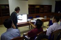 Atelier de formation de radiologues Cambodgiens