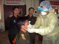 Atelier national sur la lutte contre la grippe organisé par l'Institut Pasteur du Laos.
