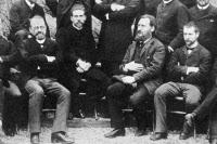 1er Cours 1889, élèves, détail