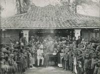 Albert Calmette vaccinant à Saïgon en 1891