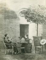 Pasteur et sa femme près d'Alès