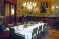 Grande salle à manger, appartement de Louis Pasteur, musée Pasteur.