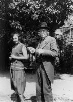 Hélène Sparrow et Charles Nicolle au Mexique en 1931