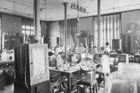 Laboratoire pasteurien en 1916.