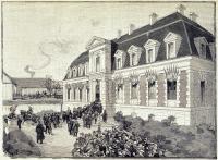 Inauguration de l'Institut Pasteur le 14 novembre 1888