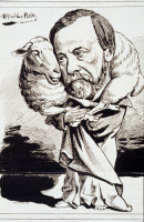 Caricatures of Louis Pasteur