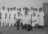 Institut Pasteur du Maroc. Campagne de vaccination antipoliomyélitique en 1953